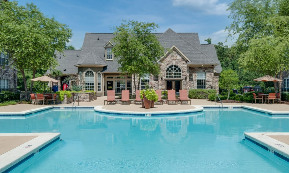 Enjoy a refreshing swimming pool at Legacy at Meridian in Durham