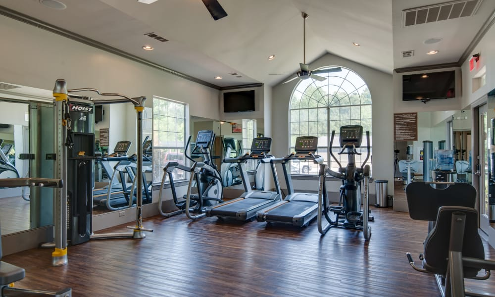 Fitness center at Legacy at Meridian