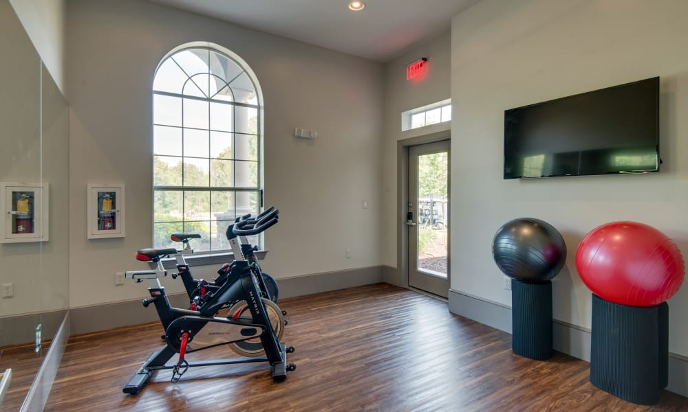 Enjoy a state-of-the-art fitness center at Legacy at Meridian