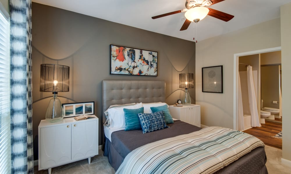 Enjoy a cozy bedroom at Legacy at Meridian