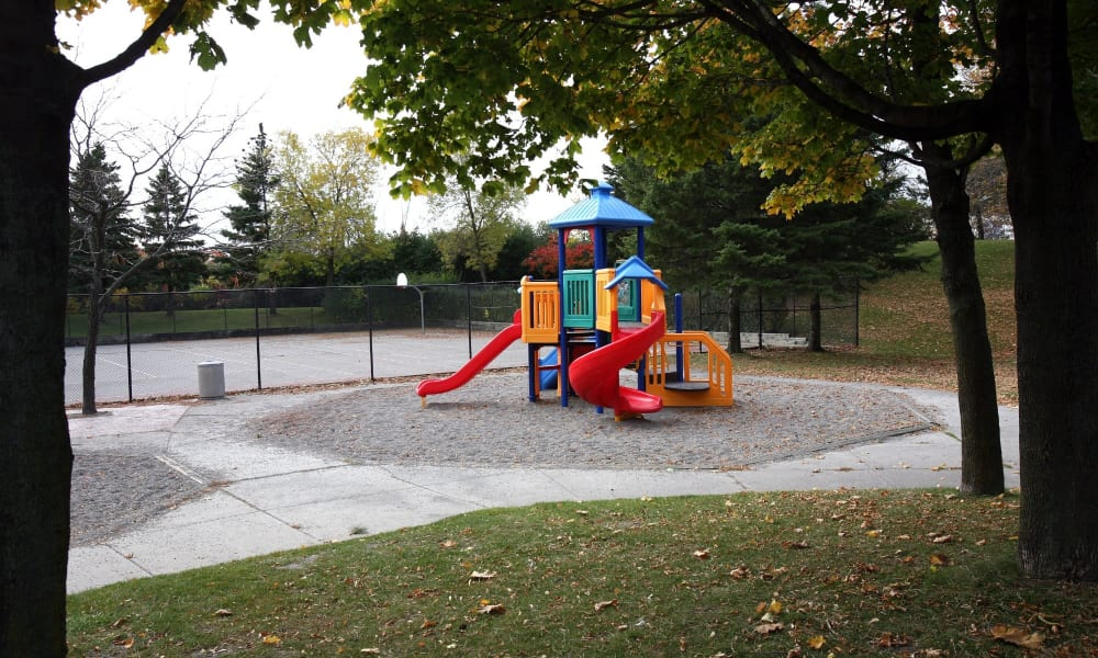 Our apartments in Brampton, ON showcase a beautiful playground
