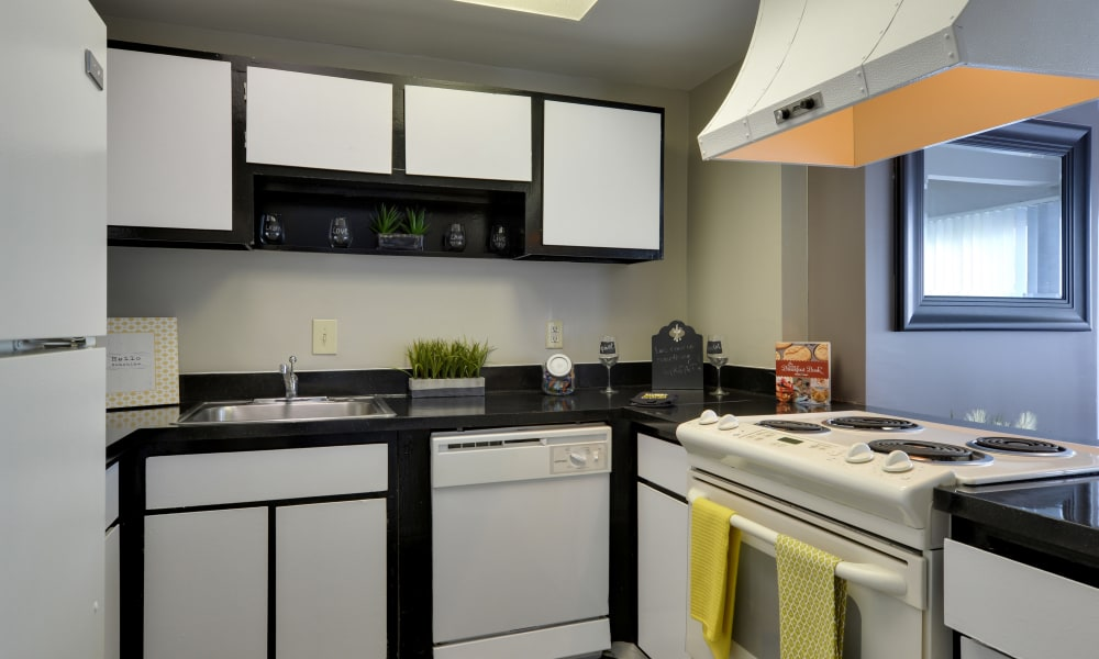 Classic Kitchen at The Colony at Towson Apartments & Townhomes