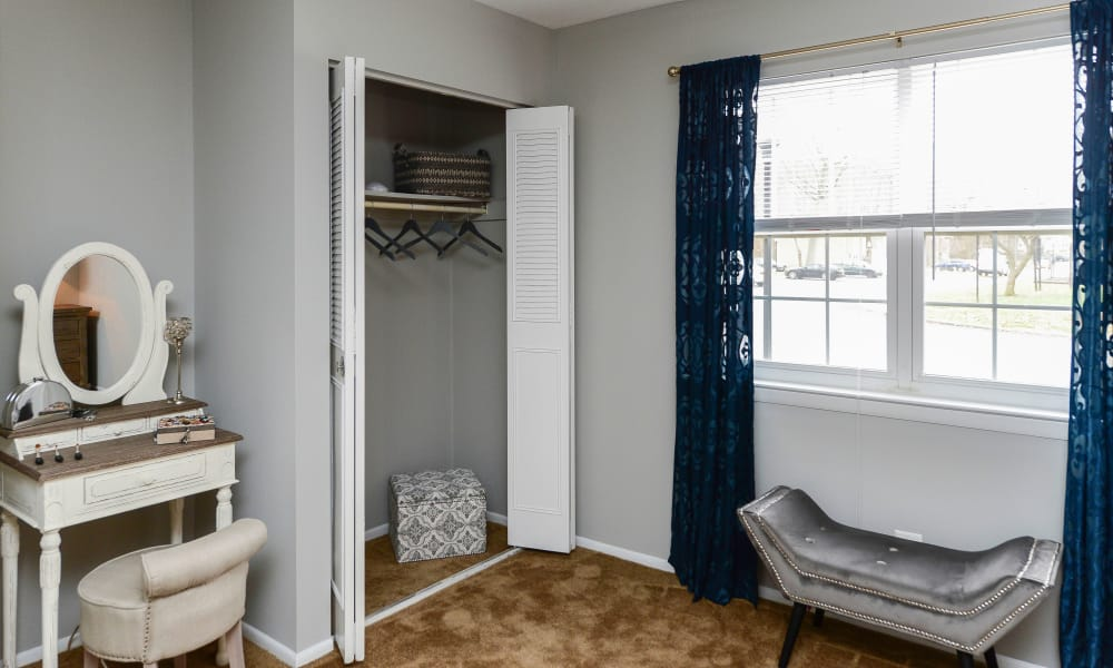 Bedroom at Moorestowne Woods Apartment Homes