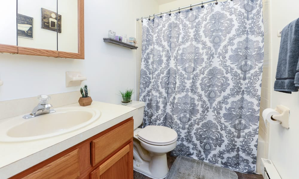 Bathroom at Eatoncrest Apartment Homes