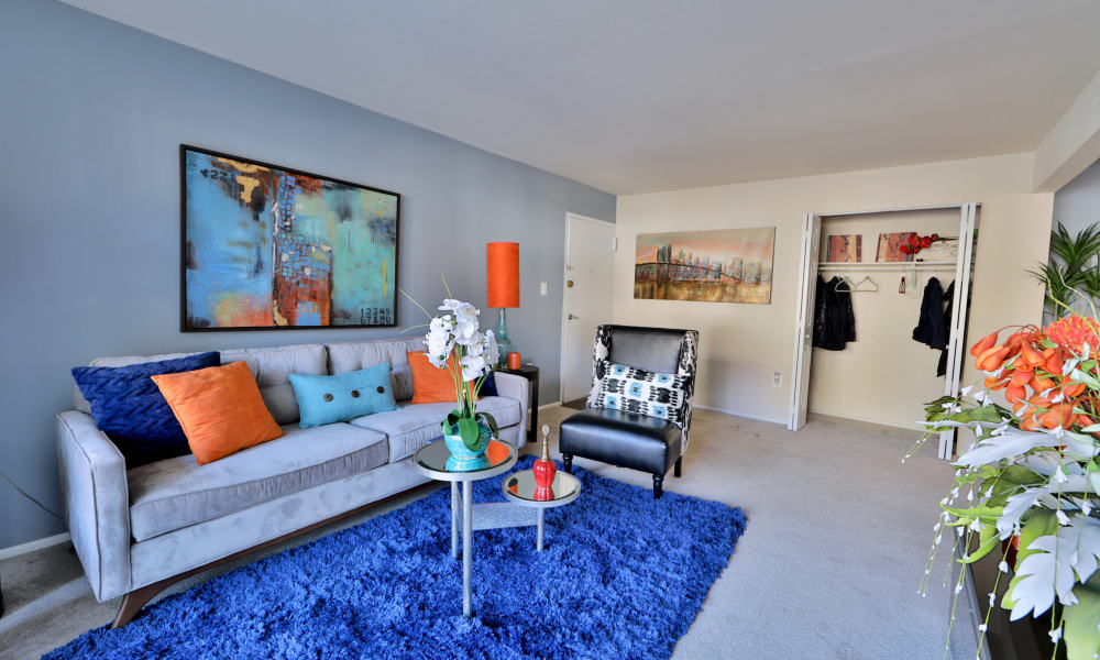 Ample living space at Avery Park Apartment Homes