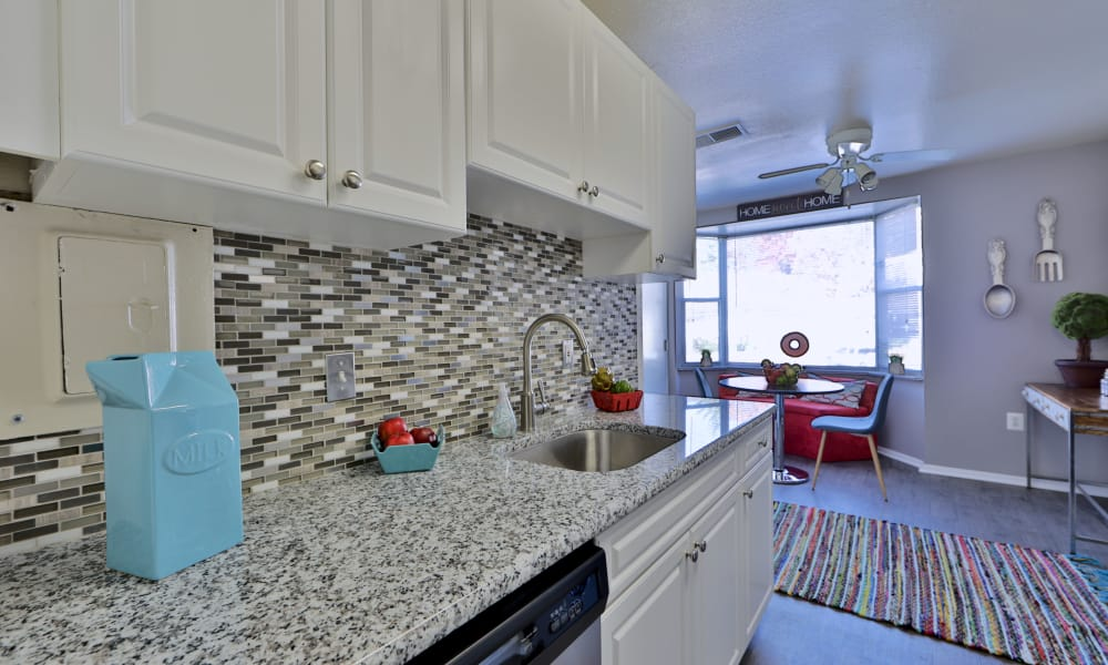 Well equipped kitchen at Avery Park Apartment Homes