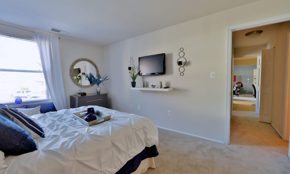 Enjoy a spacious bedroom at Avery Park Apartment Homes