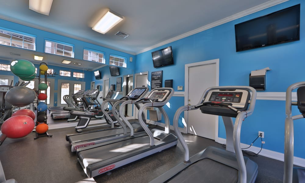 Avery Park Apartment Homes fitness center in Silver Spring, Maryland