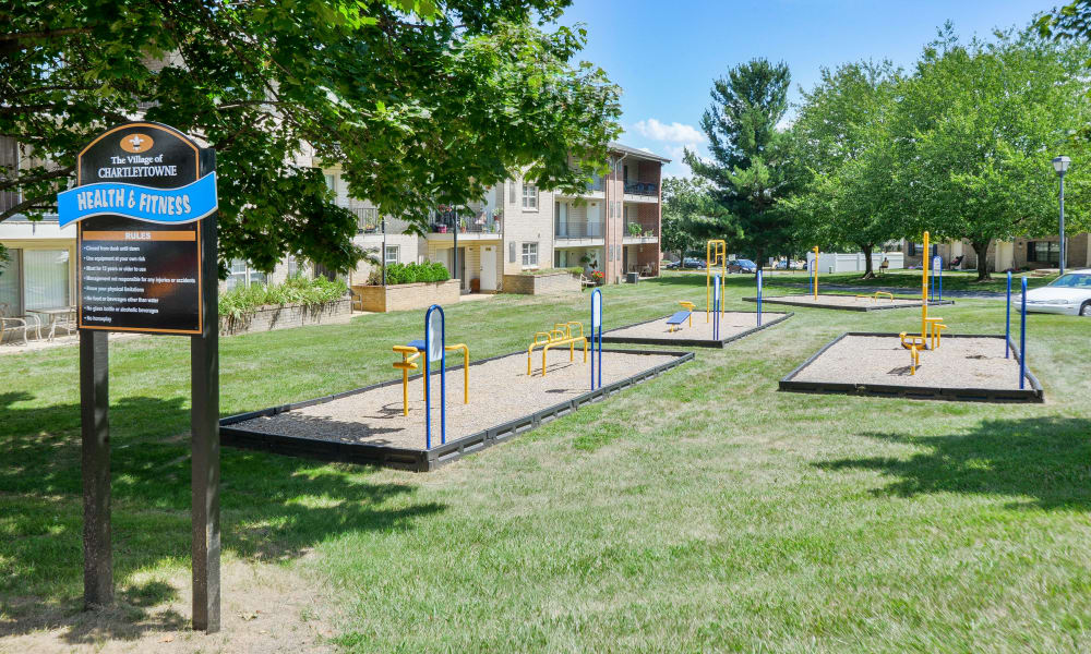 Playground at The Village of Chartleytowne Apartment & Townhomes