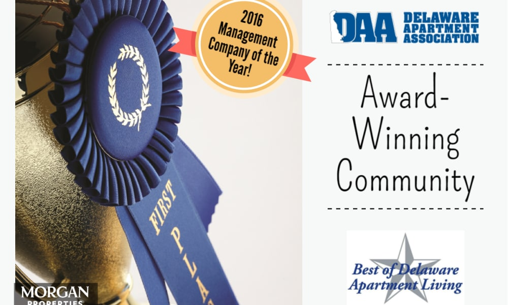 Award for Country Village Apartment Homes in Dover, Delaware