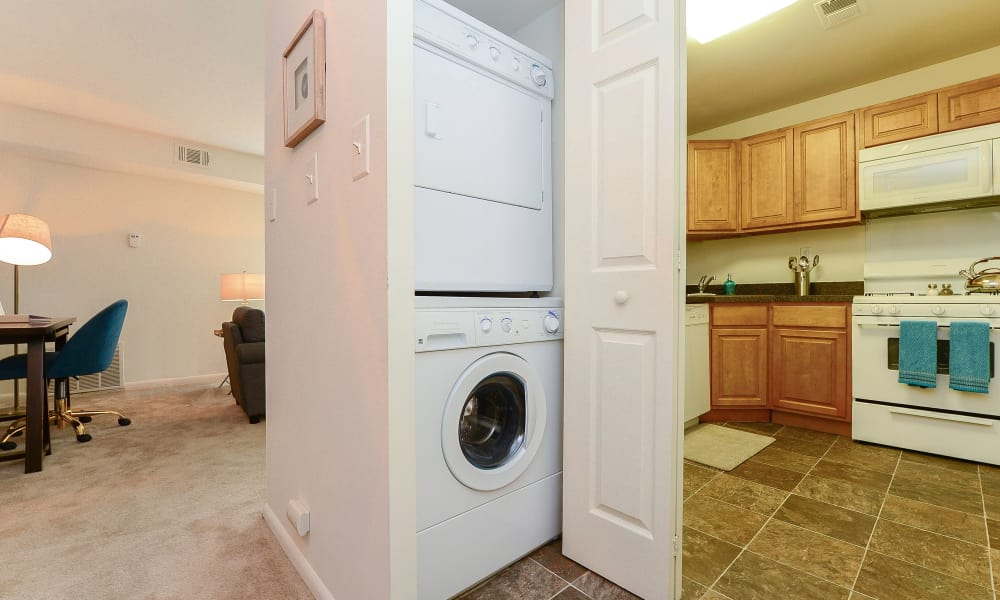 Country Village Apartment Homes in Dover, Delaware offers apartments with a washer/dryer