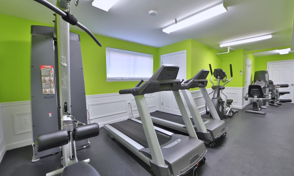 Our apartments in Laurel, Maryland offer a fitness center