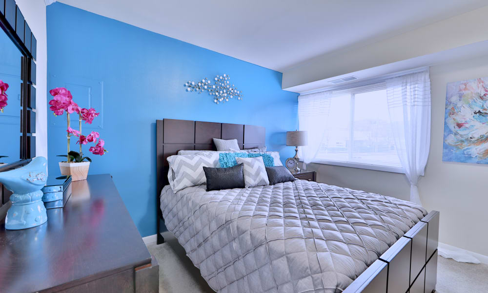 Our apartments in Randallstown, Maryland have a naturally well-lit bedroom