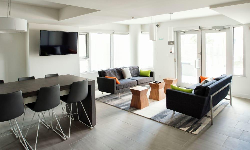 Wonderful communal area at 19Twenty Apartments in Halifax