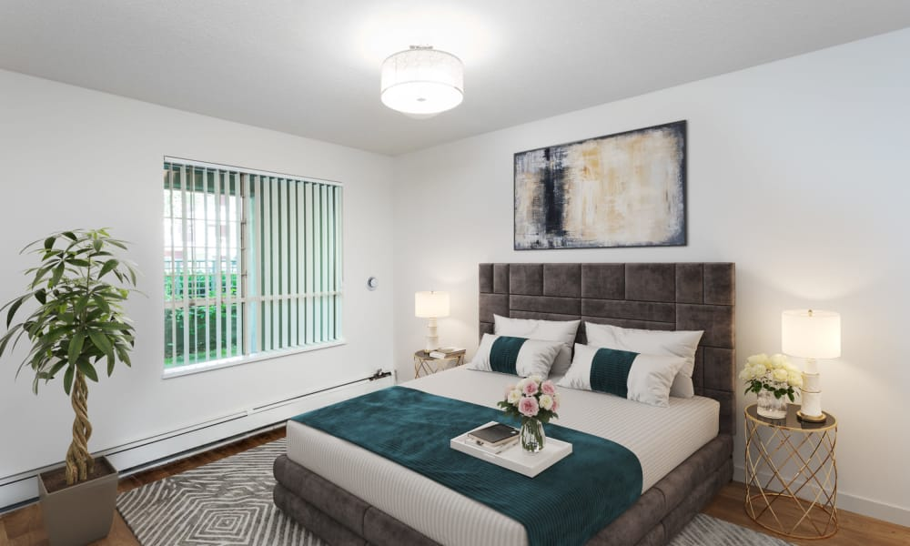 Our apartments in Vancouver, British Columbia offer a bedroom