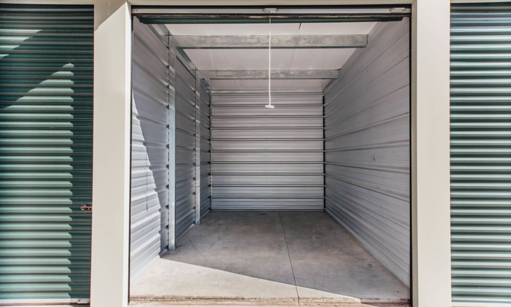 Interior view of unit at Harrisburg Self Storage