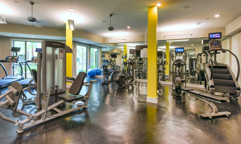 Our apartments in Charlotte, North Carolina offer a fitness center