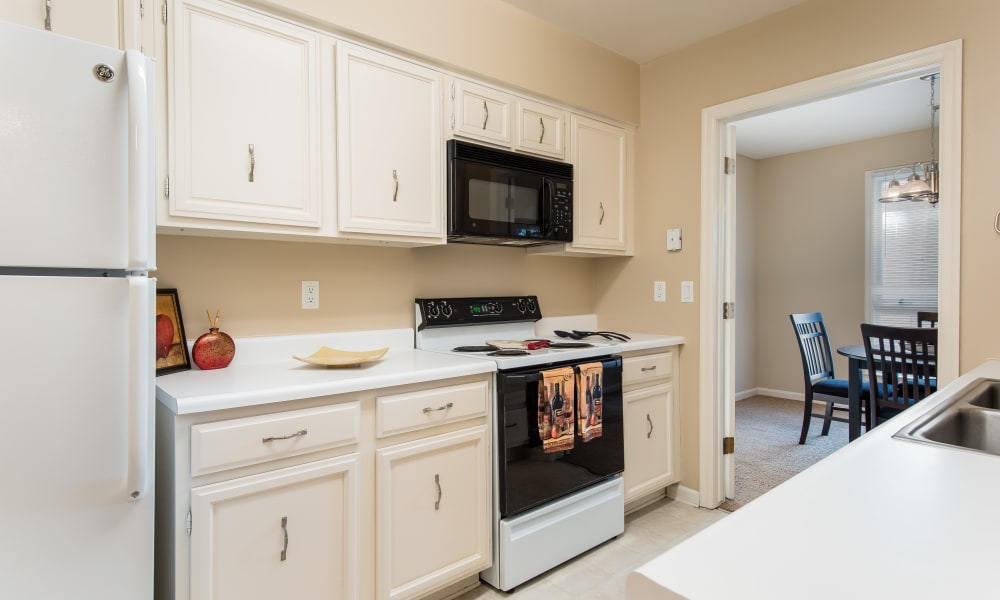 Kitchen at Regency Lakeside Apartment Homes