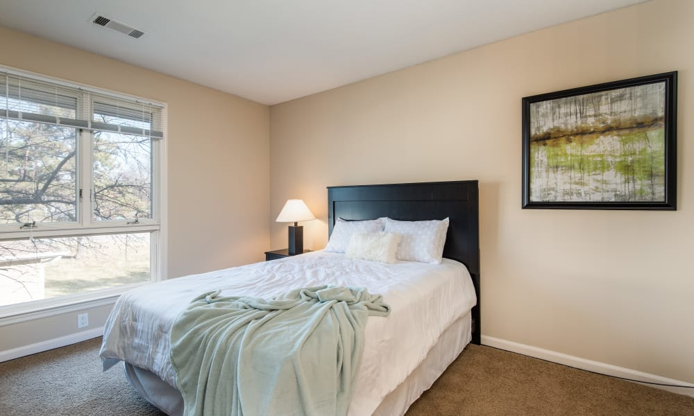 Master bedroom at Regency Lakeside Apartment Homes