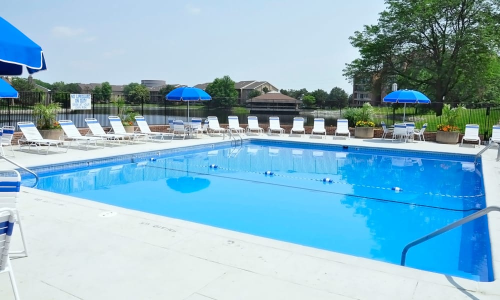 Pool at Regency Lakeside Apartment Homes