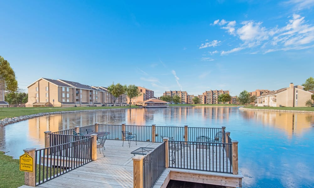 lake at Regency Lakeside Apartment Homes