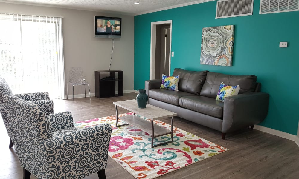 Clubhouse sitting area at Beech Meadow Apartments
