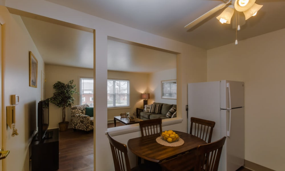 Rochester Highlands offers an ample living space