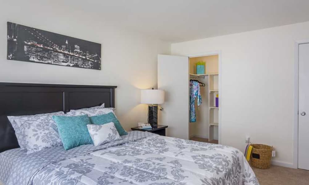 Bedroom at The Residences at Brookside