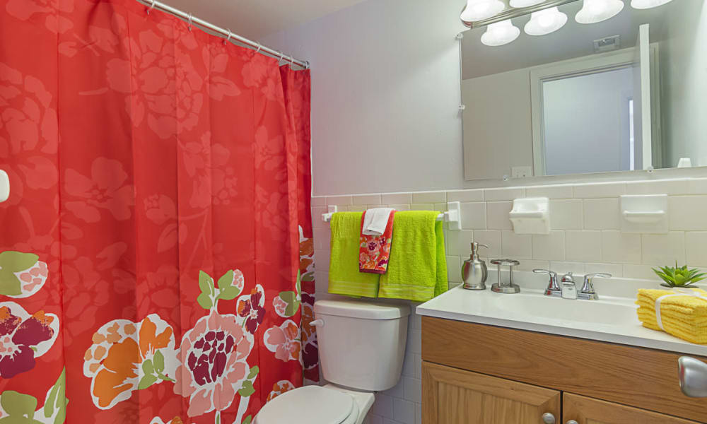 Bathroom at The Residences at Brookside