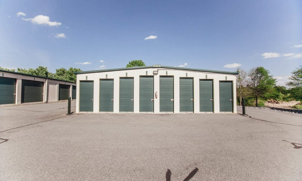 Our self storage units in Harrisburg, NC