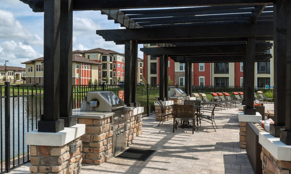 Sands Parc offers a bbq area in Daytona Beach, Florida