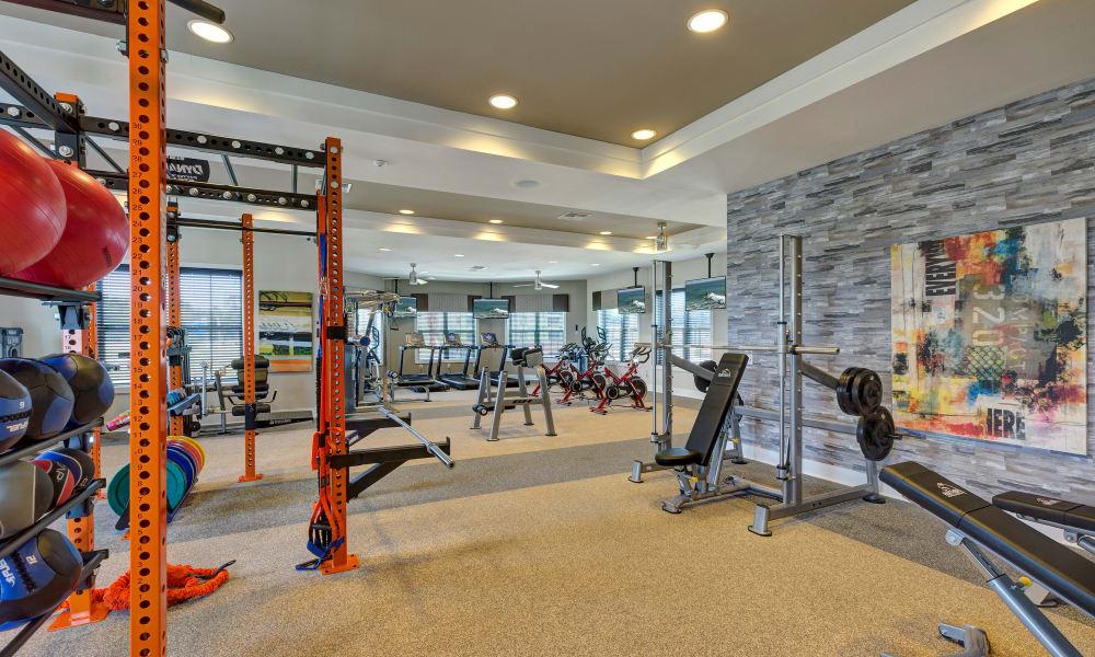Sands Parc offers a fitness center in Daytona Beach, Florida