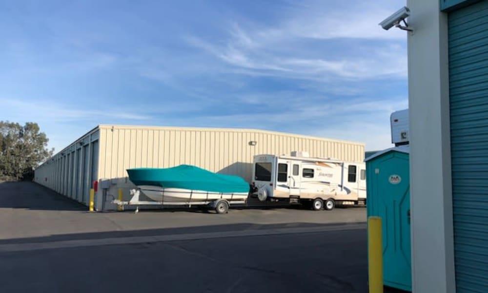 Terminous RV & Boat Storage offers RV and boat storage in Lodi, California