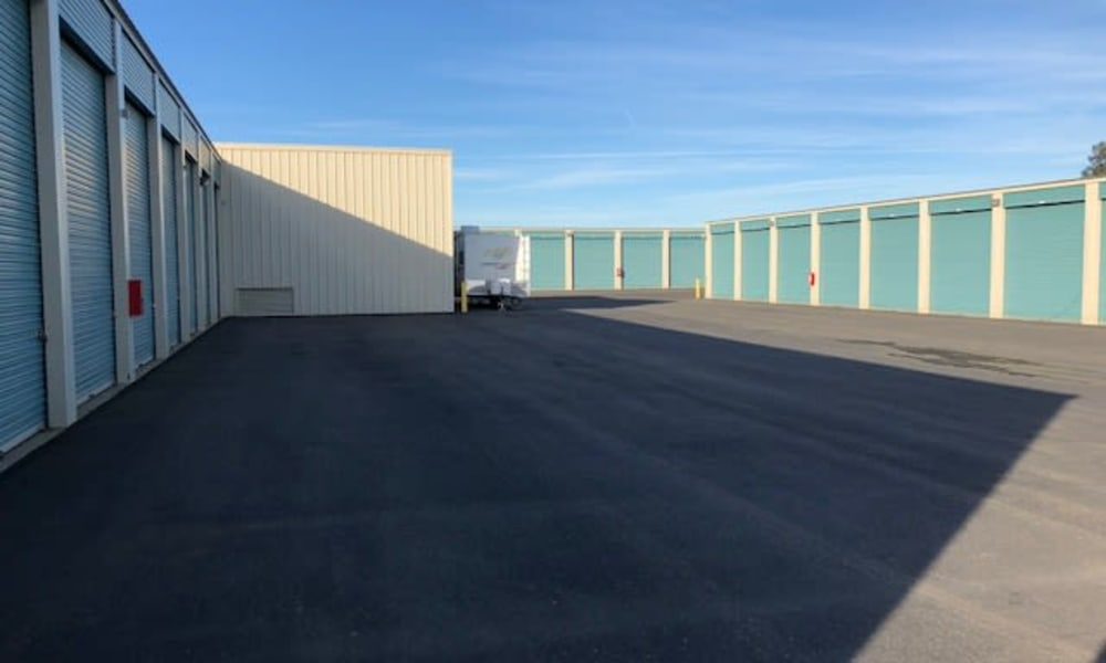 Self storage units for rent at Terminous RV & Boat Storage in Lodi, California