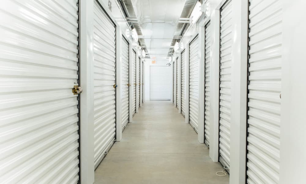 Climate controlled storage at The Attic Self Storage in Concord, NC