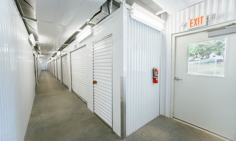 Climate controlled self storage in Concord