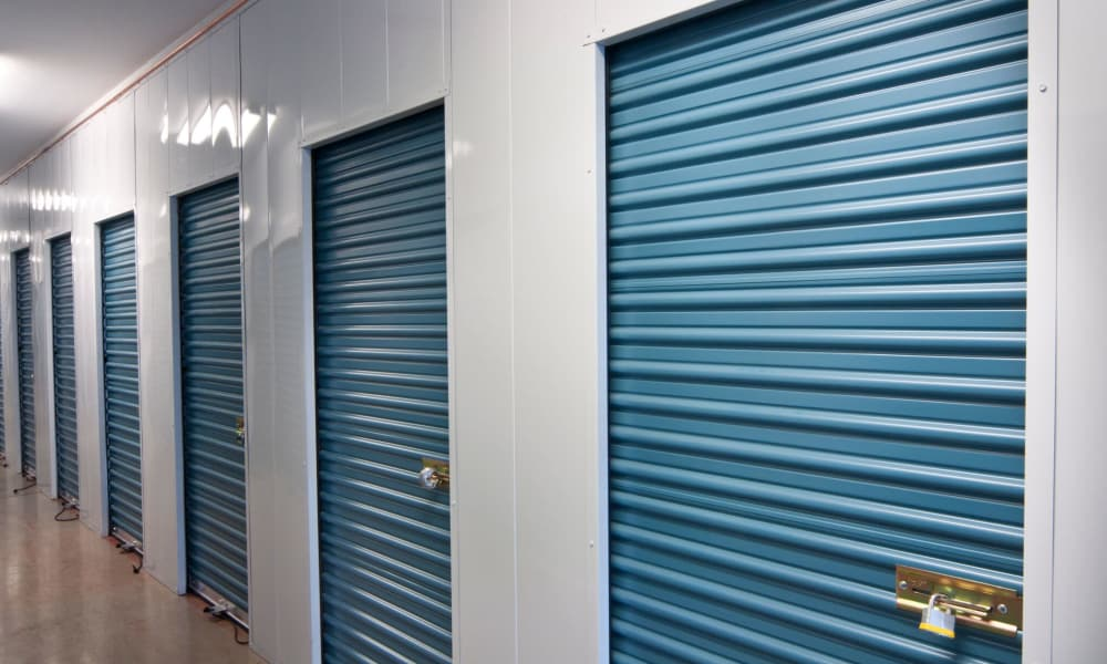 Self storage units at Armadillo Self Storage South in High Point, NC
