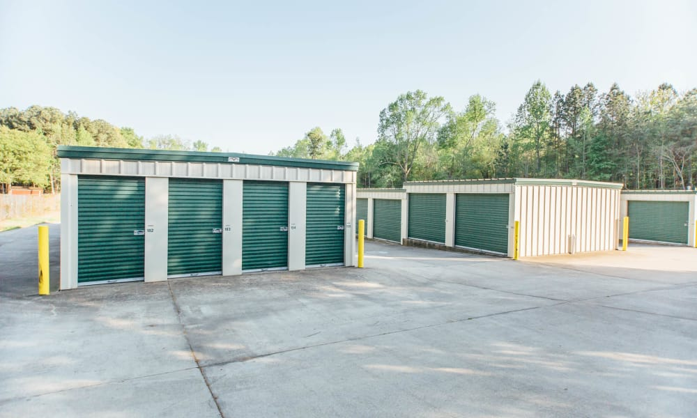 A look at our self storage units at AAA Ministorage in Durham