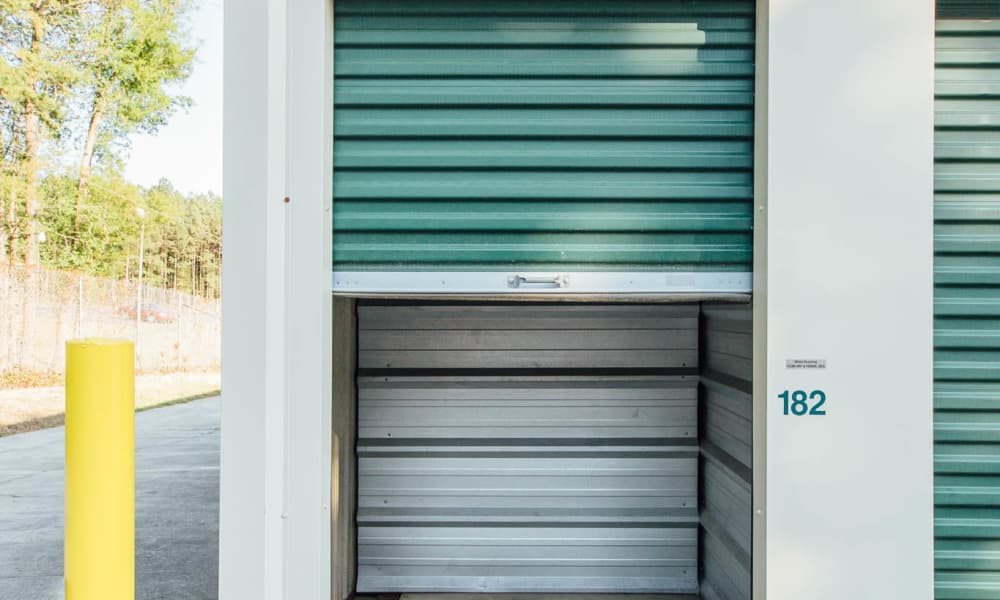 Our self storage offers electronic gate at AAA Ministorage in Durham, NC