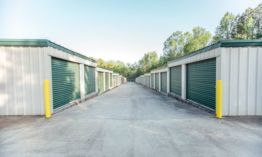 Self storage units at AAA Ministorage in Durham, NC