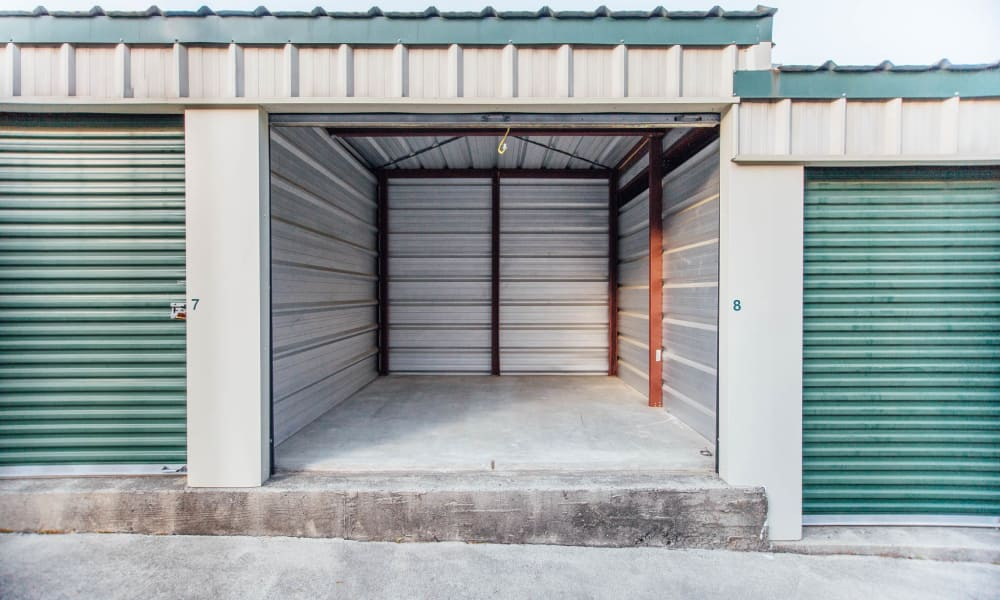 Spacious storage units in Durham