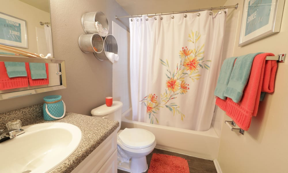 Bathroom at Avery Park Apartment Homes