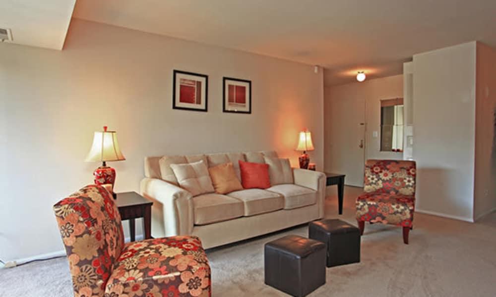 Enjoy ample living spaces at Carriage Hill Apartment Homes