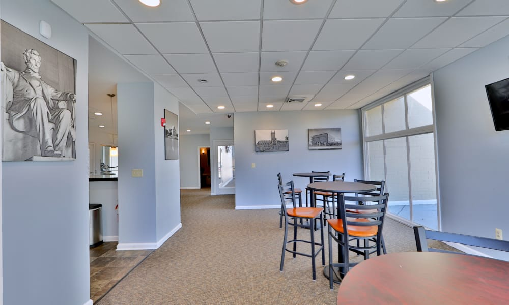 Clubhouse interior at Henson Creek Apartment Homes