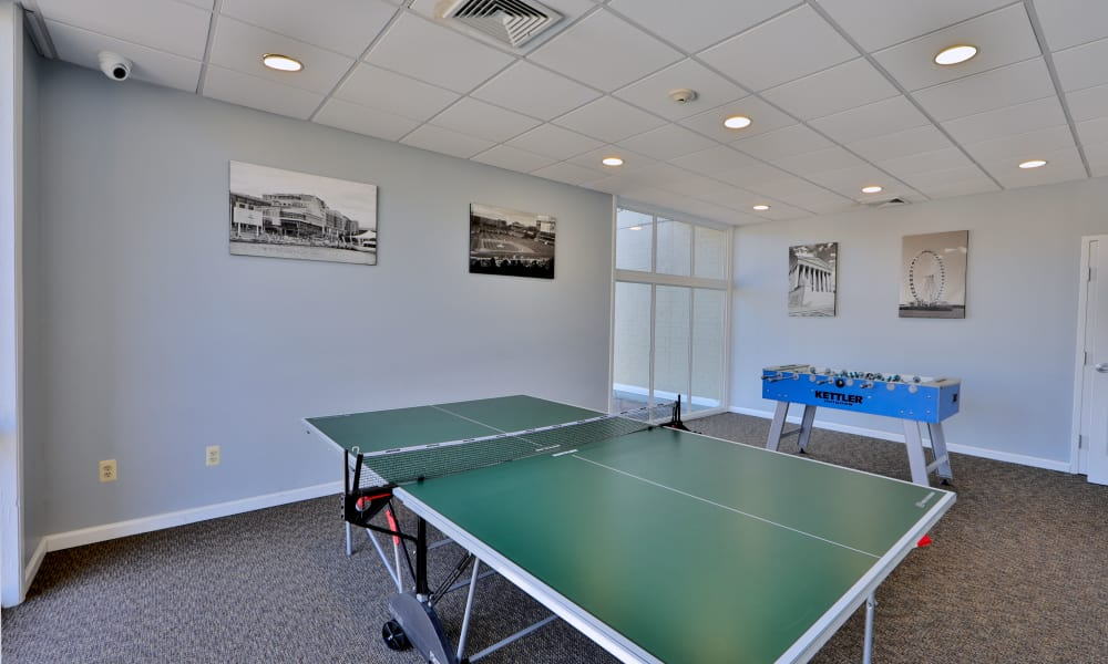 Recreation room at Henson Creek Apartment Homes