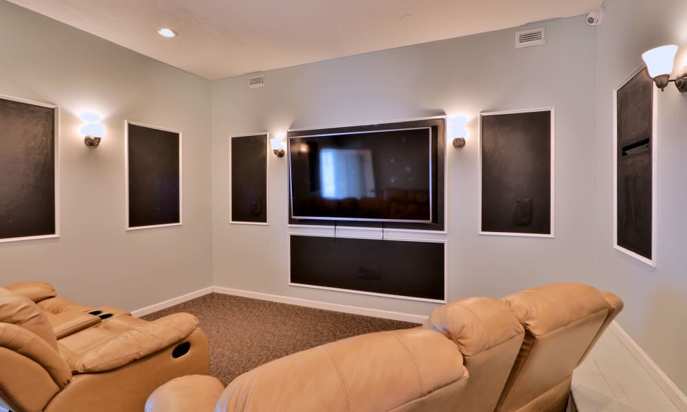 Theater room at Henson Creek Apartment Homes