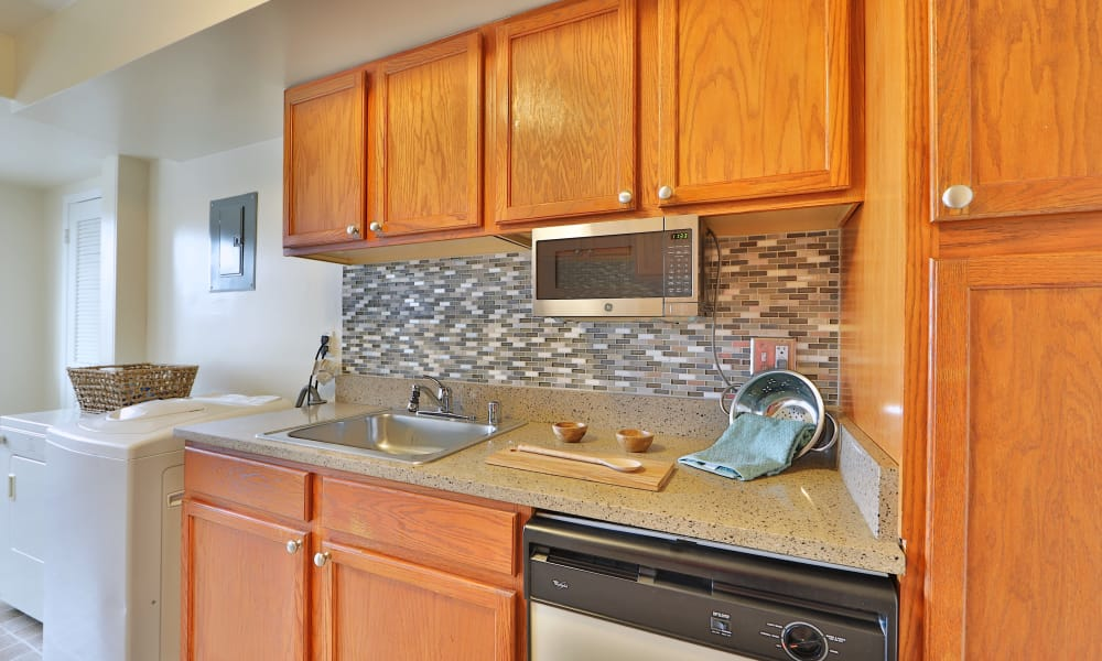 Kitchen at Westerlee Apartment Homes