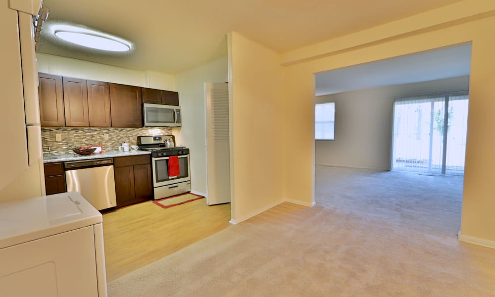 Open living room at Westerlee Apartment Homes
