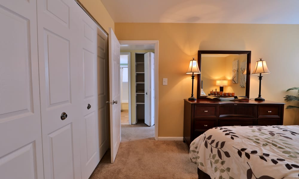 Spacious bedroom at Gwynn Oaks Landing Apartments & Townhomes