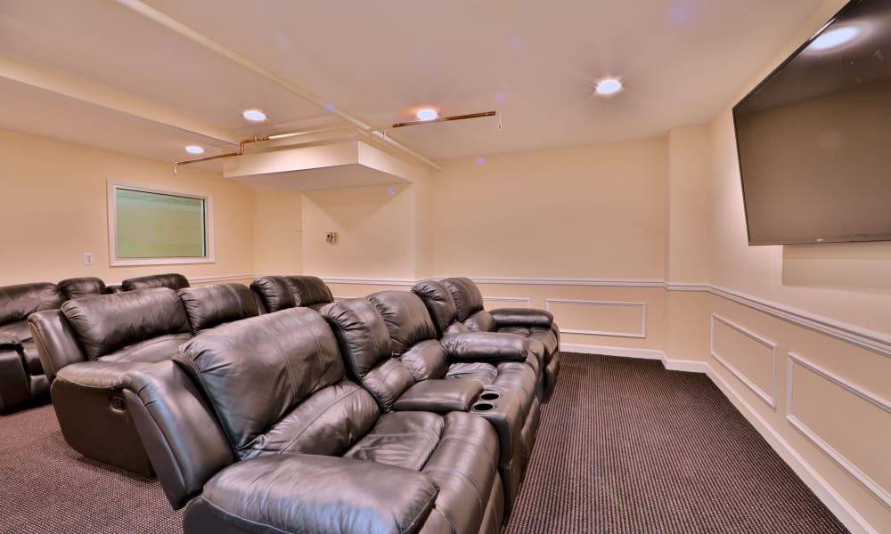 Theater at Kings Park Plaza Apartment Homes in Hyattsville, Maryland